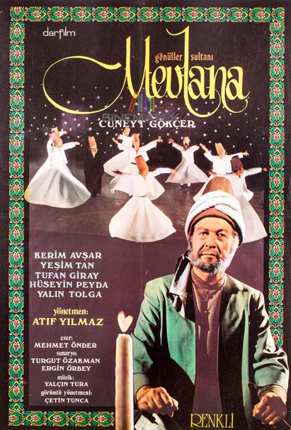 Sinematek Gönüller Sultanı Mevlana 1973